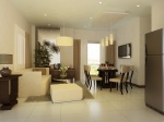 Siena Park Residences 3 Bedroom Living Dining